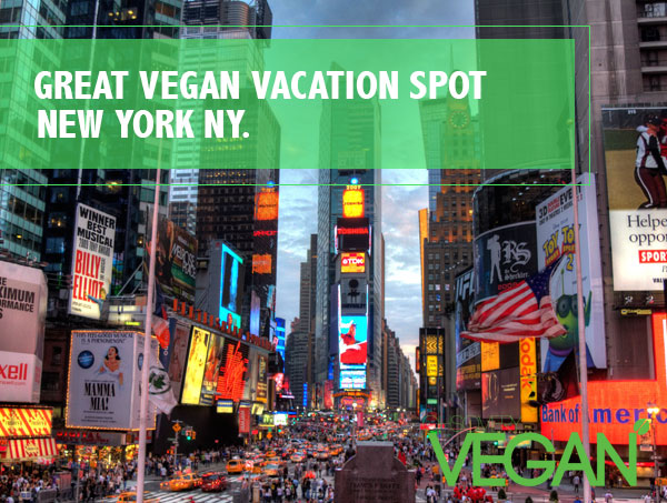 New York vegan vacation spot