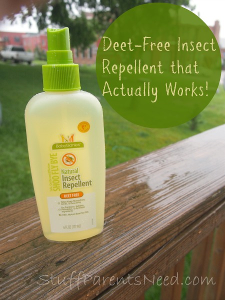 Babyganics Shoo Fly Bye Deet Free Natural Insect Repellent