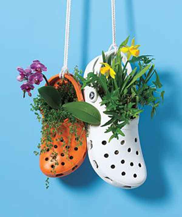 Crocs Planter