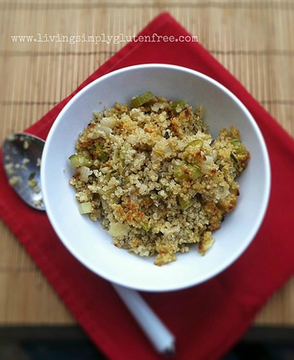Quinoa Sage Stuffing