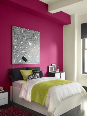 combination bedroom colors paint wall teen combinations colour pink colours bed walls living interior teens grey inspiration cool hall accent