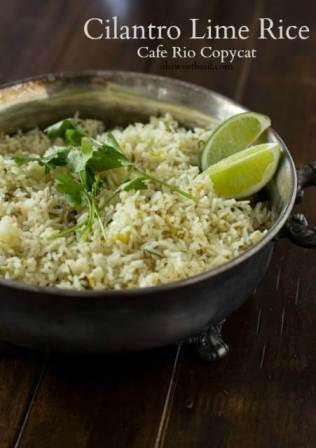Cilantro Lime Rice cafe rio copycat recipe ohsweetbasil.com_