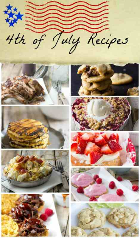 4th of july recipes ohsweetbasil