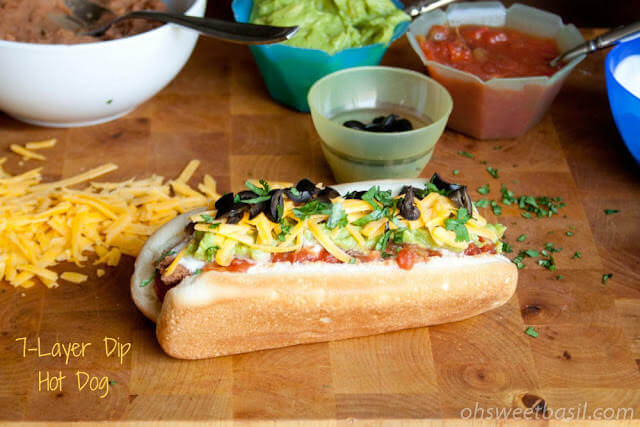 Seven Layer Dip Hot Dog-21