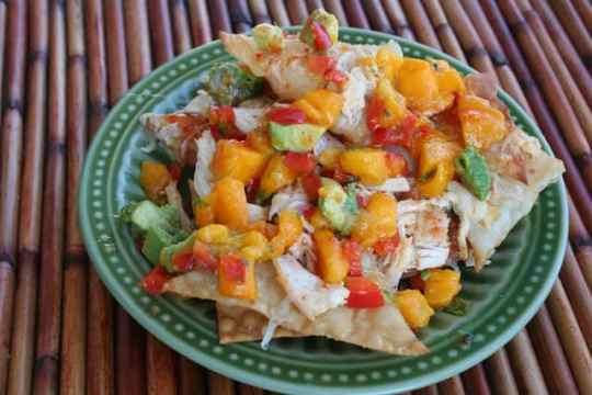 tropical nachos