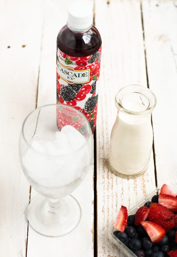 how to make an easy italian soda for the 4th of july ohsweetbasil.com