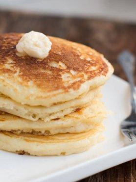 Awesome Buttermilk Pancakes ohsweetbasil.com