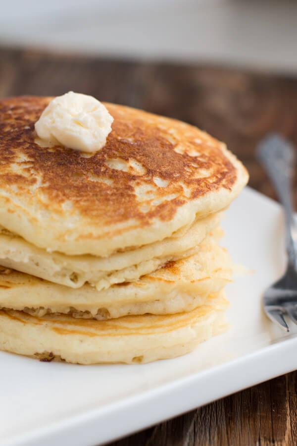 homemade-buttermilk-pancake-recipe-ohsweetbasil.com