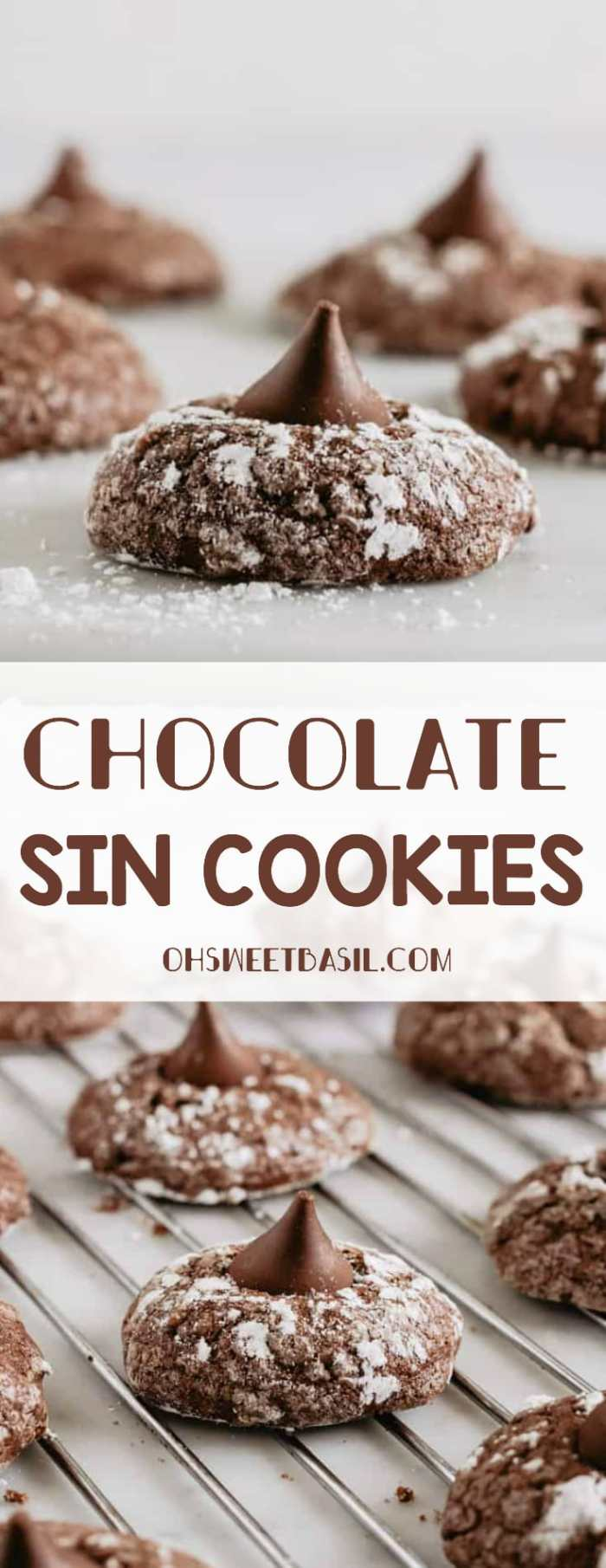 a cooling rack with olive oil chocolate sin cookies