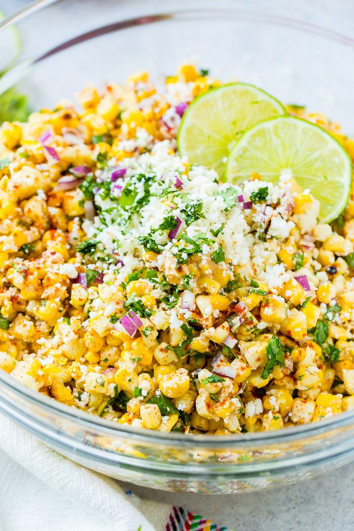 Elote Grilled Mexican Corn Salad Oh Sweet Basil
