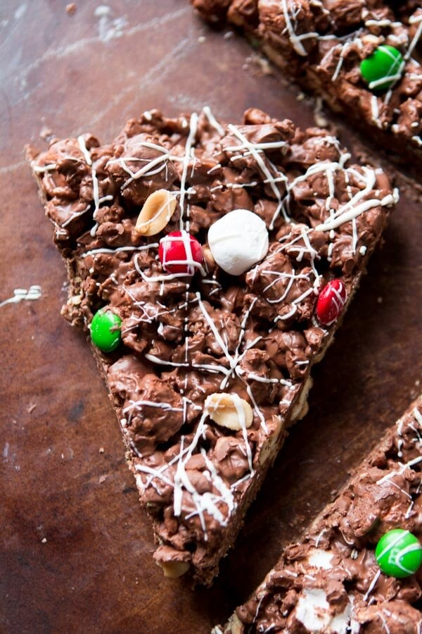 There's an amazing air about the holidays, but it's also too busy. This year choose to cut out the crazy and make this quick and easy m&m chocolate pizza. no-bake