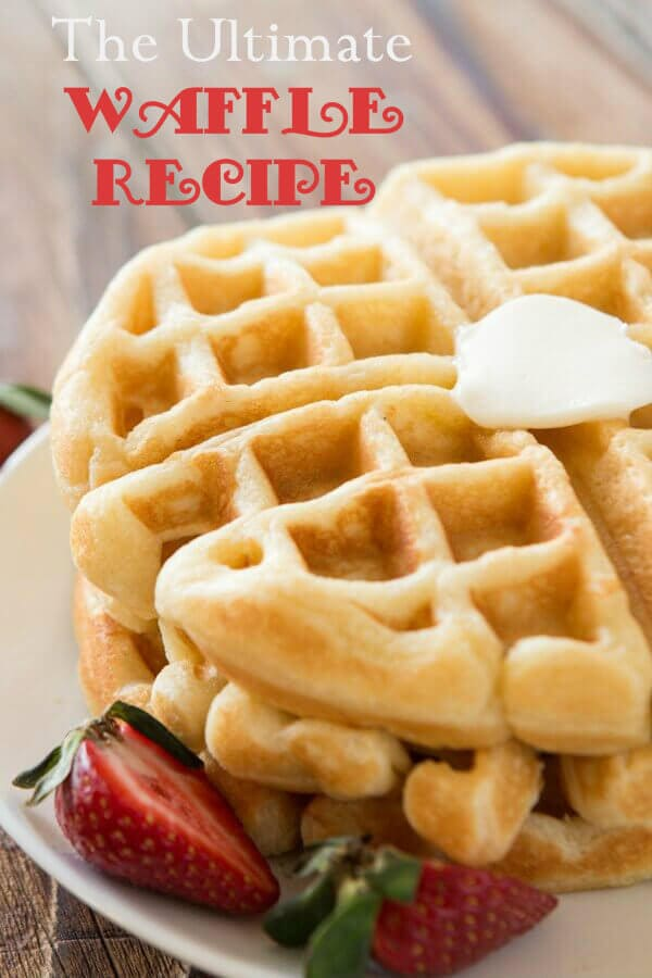 We tested over 100 waffles and this is the best buttermilk recipe out there! The ultimate waffle recipe and it's all thanks to a few simple secrets. OHSWEETBASIL.COM