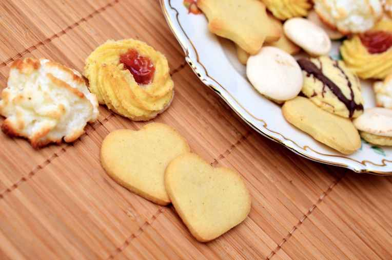 cookies baking christmas pastries