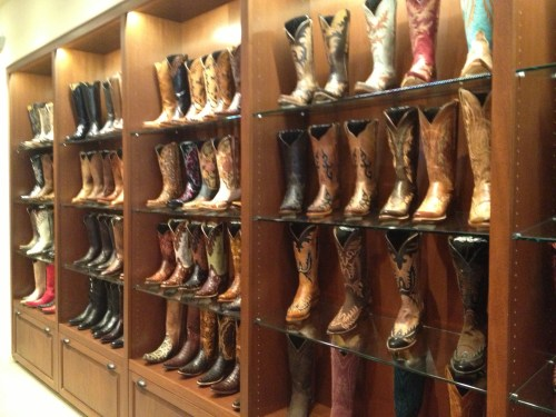 Want boots?  They got 'em! Lucchese of Santa Fe.