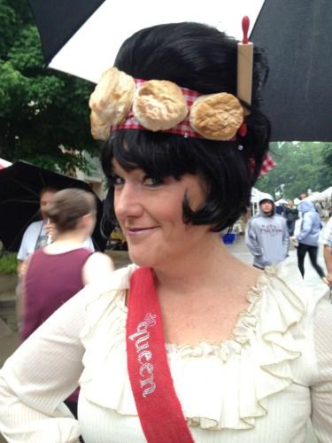 Erin Donovan, Biscuit Festival Queen