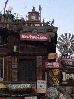 Budweiser sign, Idaho City