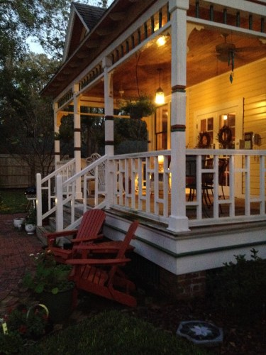 Side porch, Laurel Oak Inn