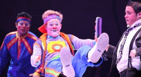 Three clowns: Ringling Bros. Circus