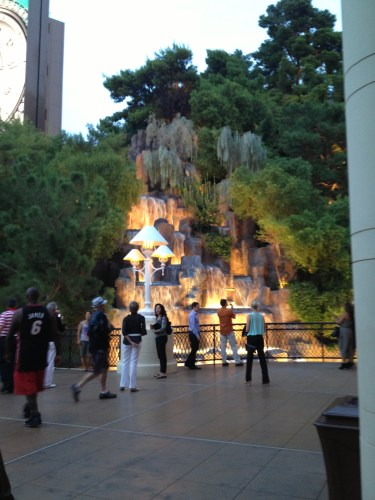 Waterfall at Wynn Las Vegas