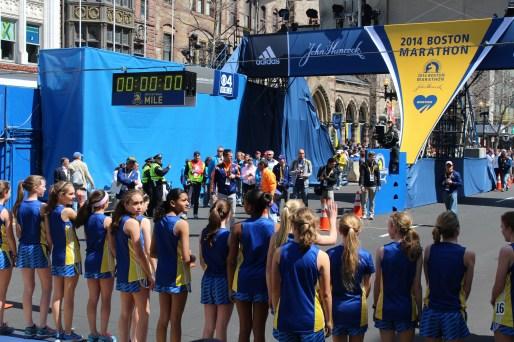 Middle School Girls race