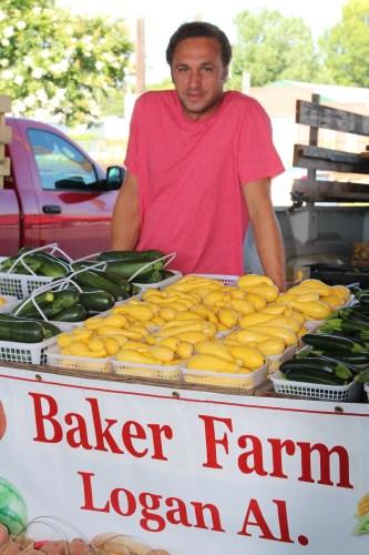 Yellow squash from Baker Farm