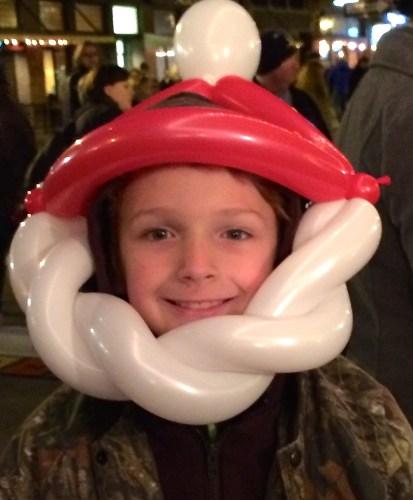 Balloon Santa face, Knoxville