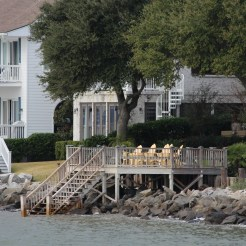 Homes along the water: St. Simons Island