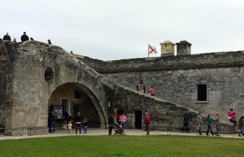 Plaza de Armas, Castillo de San Marcos