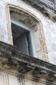 Intricate detail below a window, St. Augustine
