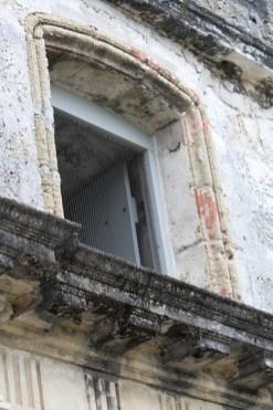 Intricate detail below a window, St. Augustine