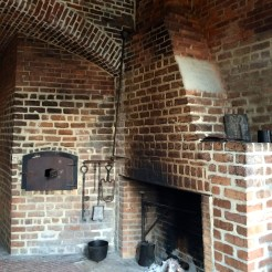 Cooking on an open hearth, Fort Clinch