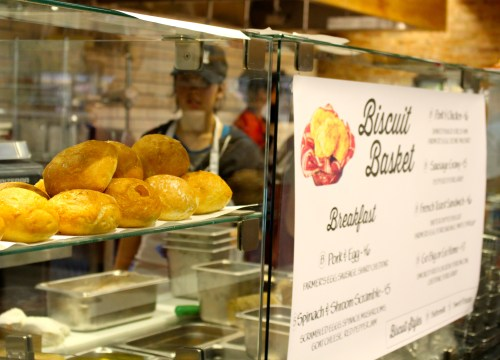 Biscuit Basket -- where you can do some serious carb-loading!