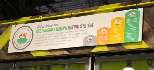 Responsibly Grown Rating System for Whole Foods Markets