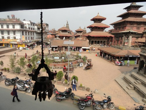 Durbar Square, Katmandu, before the earthquake on April 25, 2015.