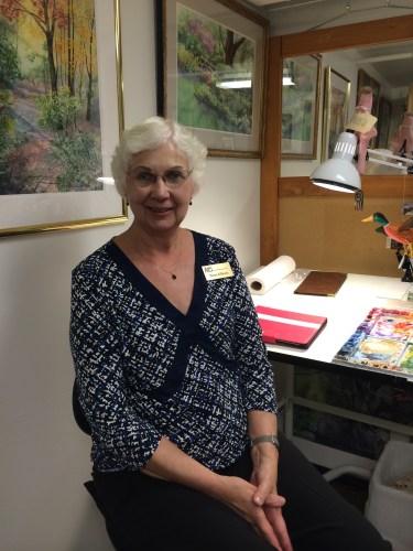 Diana Kilburn, watercolor artist