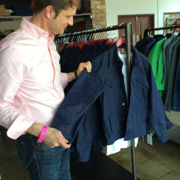 Andy Jones, PR director, Marc Nelson Denim