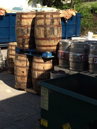 Saw Works kegs and barrels