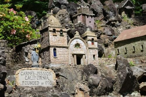 Carmel Mission, CA -- Ave Maria Grotto