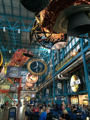 Food court and exhibit space: Kennedy Space Center Visitor Complex