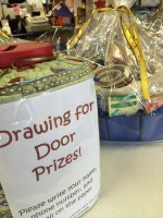 Door prize drawing -- Machine Quiltin' by Iva