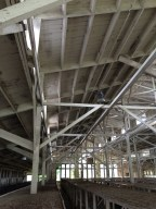 Ceiling and exhibit structures, Poultry Barn, Knoxville