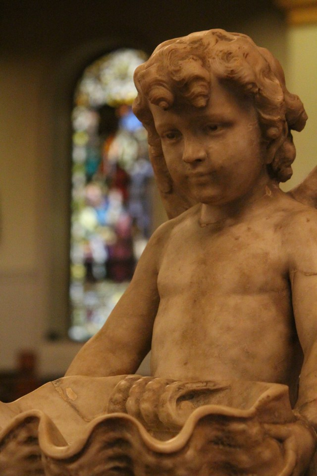 Cherub from St. Louis Cathedral