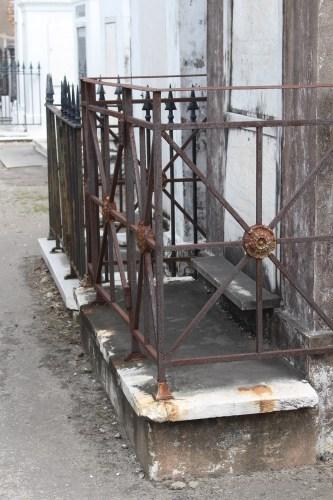 Ironwork -- St. Louis Cemetery 1, New Orleans