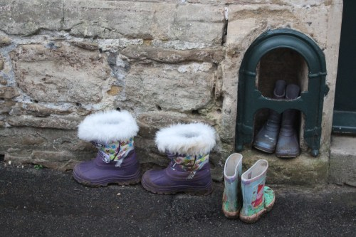 Boots by the door: England in the Cotswolds