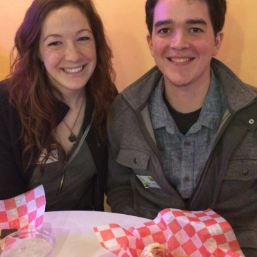 Mapsy and Joel, who work at Navitat Canopy Adventures, recently moved to Knoxville from California.