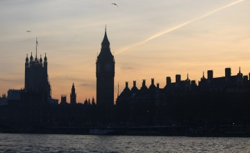 Parliament forms the background for a memorable sunset cruise on the Thames.