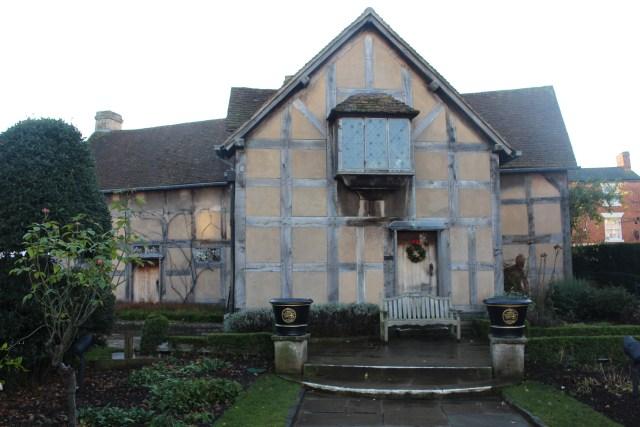 Shakespeare's home on Henley Street