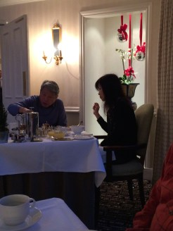 Dining at Lords of the Manor