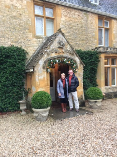 Enjoying a special stay at Lords of the Manor