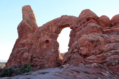 """Windows on the World"" at Arches National Park, Utah."